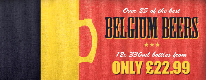 Belgium Beers by The Real Ale Company