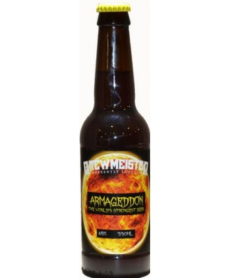 Armageddon -The World's Strongest Beer 65% - 1 x 330ml Bottles - Brewmeister