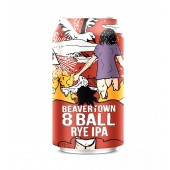 8 Ball Rye IPA - 330ml Can - Beavertown Brewery