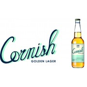 Cornish Golden Lager - 12 x 500ml Bottles - St Ives Brewery