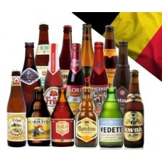 Large Belgium Beer Hamper - 15 Bottles