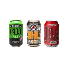Camden Town Brewery Can Mixed Case - 12 x 330ml Cans