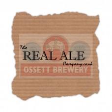 Ossett Brewery Blonde and Stout Case - 12 x 500ml Bottles - Ossett Brewery