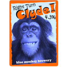 Right Turn Clyde - 500ml Bottles - Blue Monkey