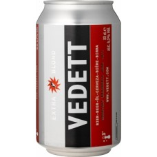 Vedett Extra Blonde - 330ml Can - Duvel Moortgat Brewery