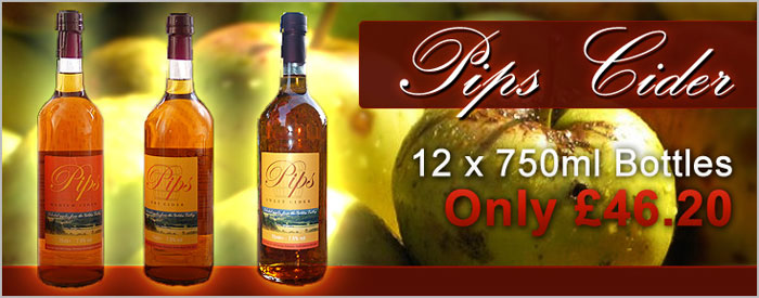 Pips Cider by The Real Ale Company